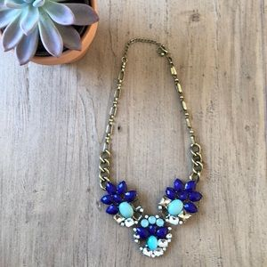 Jewelry - Royal and turquoise blue costume necklace